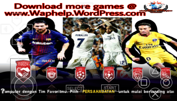PES 2018 for android ppsspp – Android Games&Apps|Internet